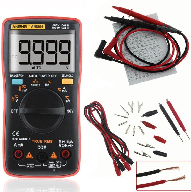 Multimetr ANENG AN8009 za 23,99$ lub AN8008 za 16,66$