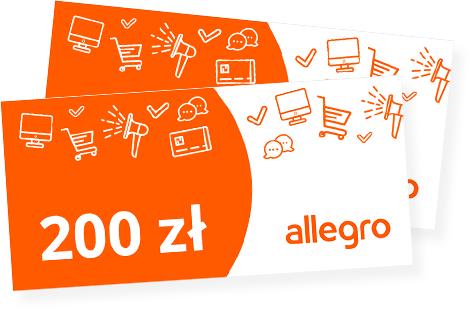 BZ WBK - Zgarnij w promocji nawet 250 zł na zakupy na Allegro