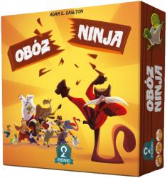 Gra planszowa Obóz Ninja @ cdp.pl