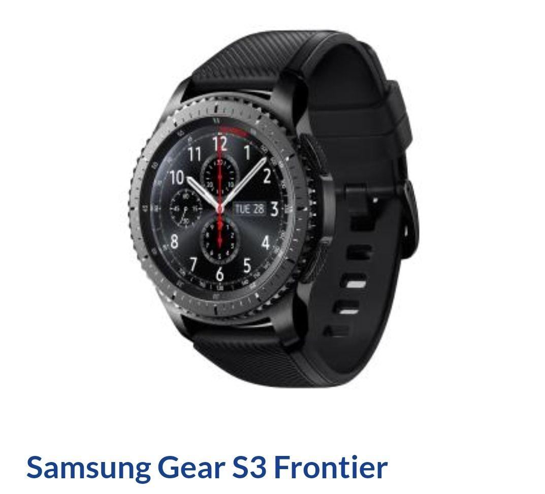 Samsung Gear S3 Frontier EuroAgd