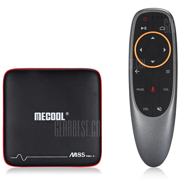 Mecool M8S PRO W (2.4G VOICE CONTROL)