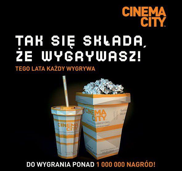 """Cinema City """"Każdy bilet wygrywa"""""""