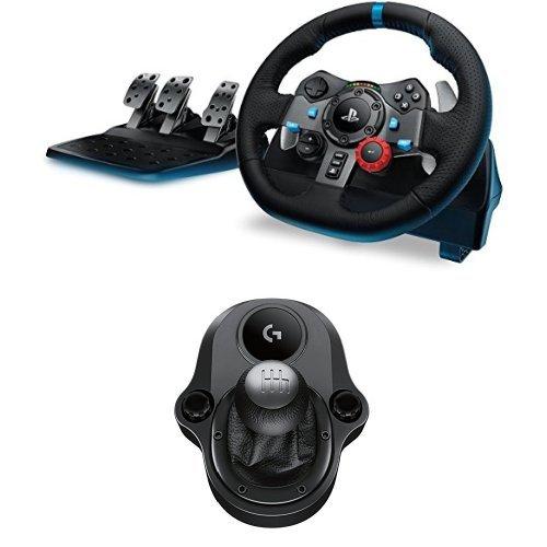 Zestaw Logitech G29 kierownica+skrzynia biegów PS4 PS3 PC @ Amazon.es