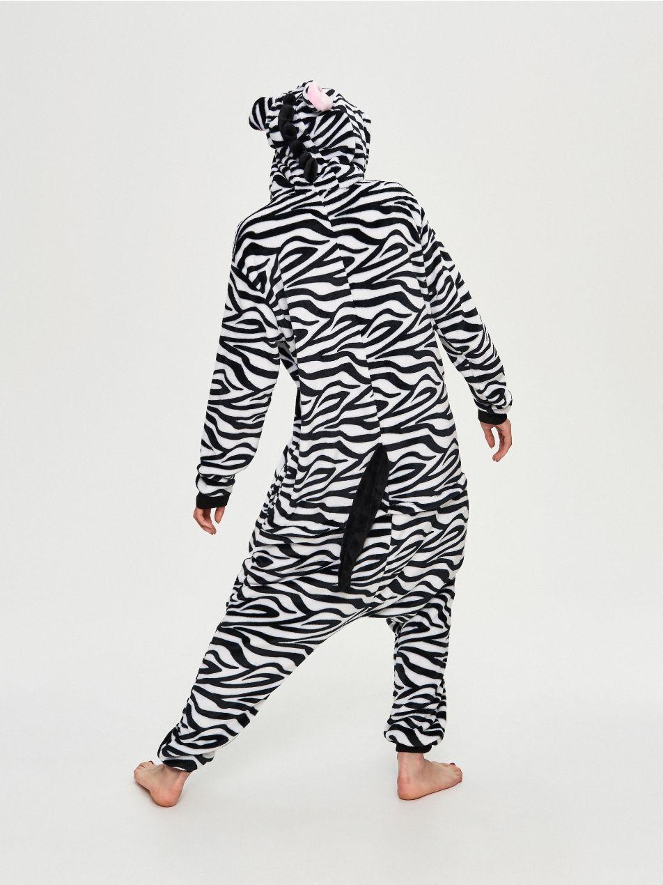 Super Piżama Zebra...idealna na imprezę :)