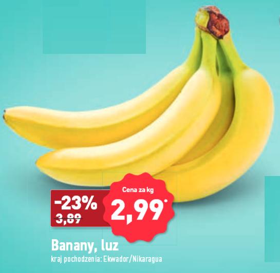 Banany 2,99 Aldi