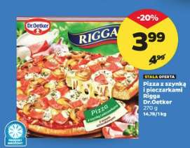 Pizza dr oetker Rigga Netto
