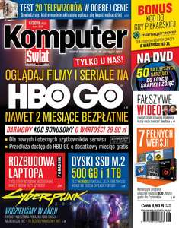 Miesiac HBO GO za 8.90 zł