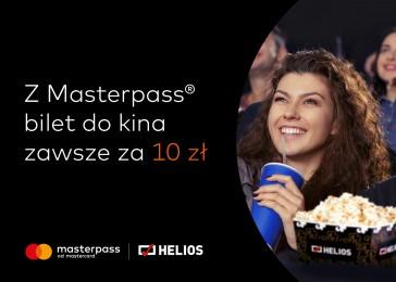 Promocja Masterpass w kinach Helios - Bilety po 10 zł