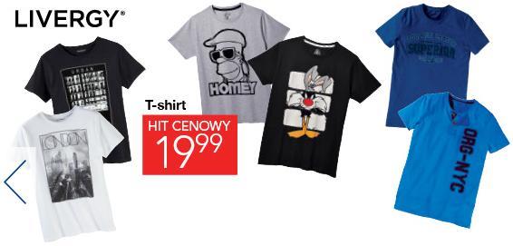T-shirt Homer Simpson i inne. Lidl