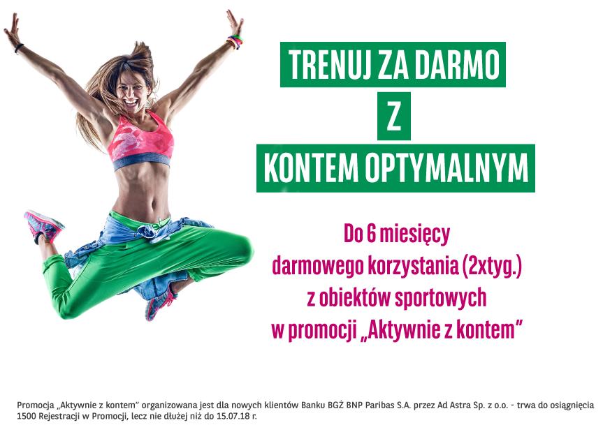 Darmowy karnet OK System na 6 miesięcy (2xtyg.) @ BGŻ BNP Paribas