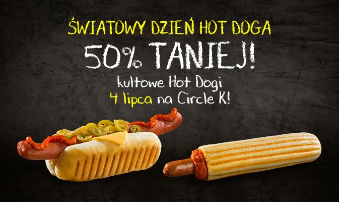 50% rabatu na Hot Dogi na Circle K