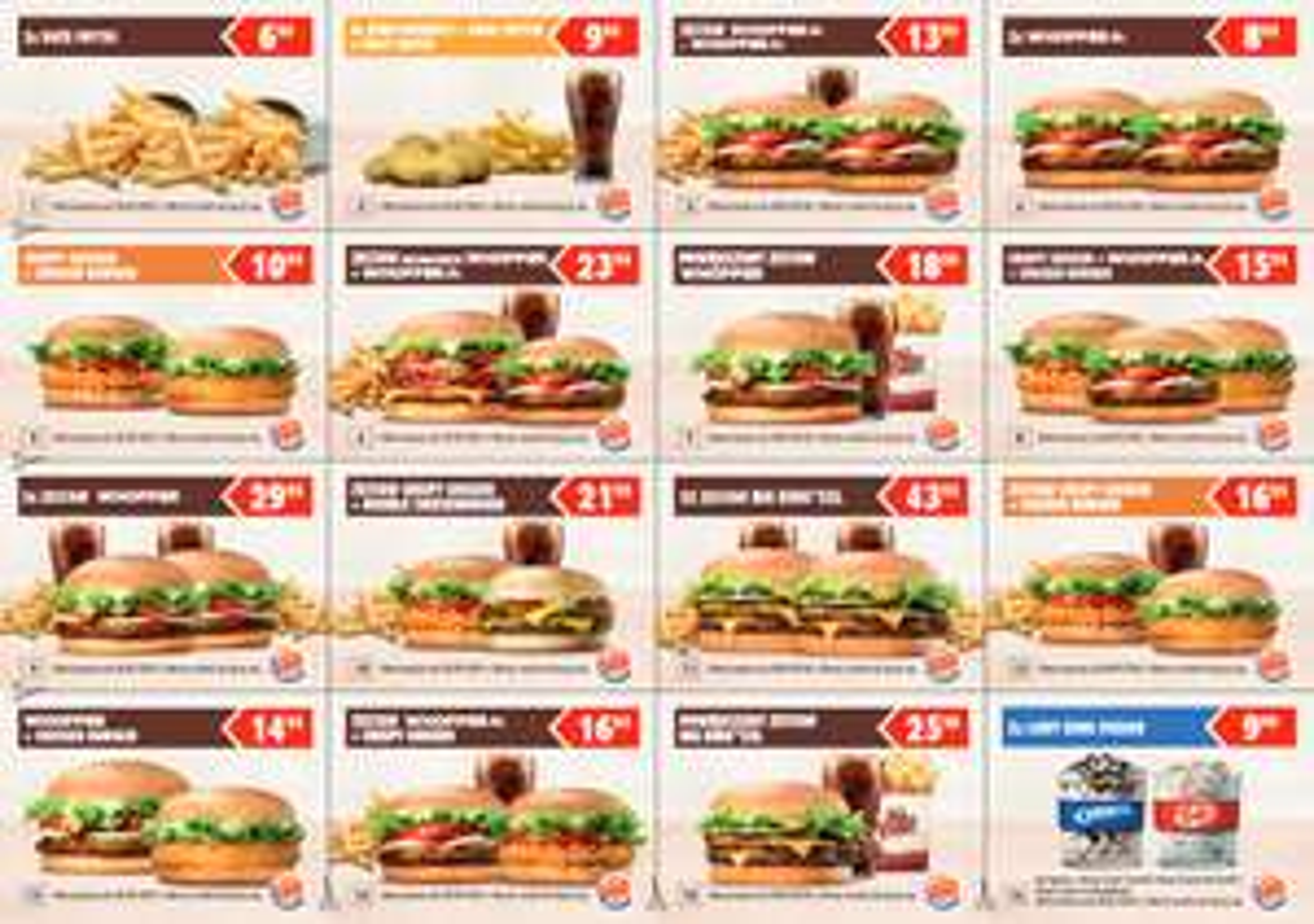 Nowe kupony (do 30 września) @ Burger King