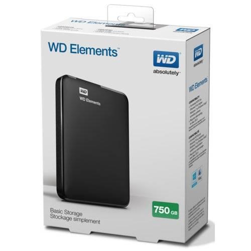 redcoon.pl > Dysk zewnętrzny WD Elements Portable 750GB NOWY