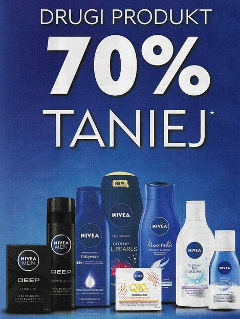 Drugi produkt marki Nivea 70% taniej @ Natura