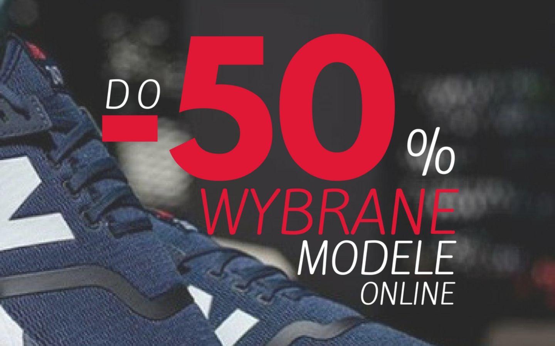 Do - 50% na wybrane modele butów online