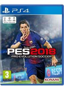 PES 2018 za 29zl  w PlayStation Store!