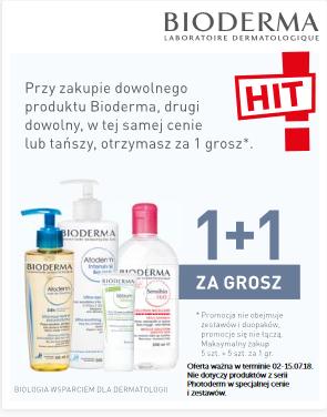 1+1 gratis na markę Bioderma @ Apteka Ziko