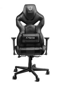 OUTLET! - Fotel Diablochairs Diablo X-Fighter Czarny