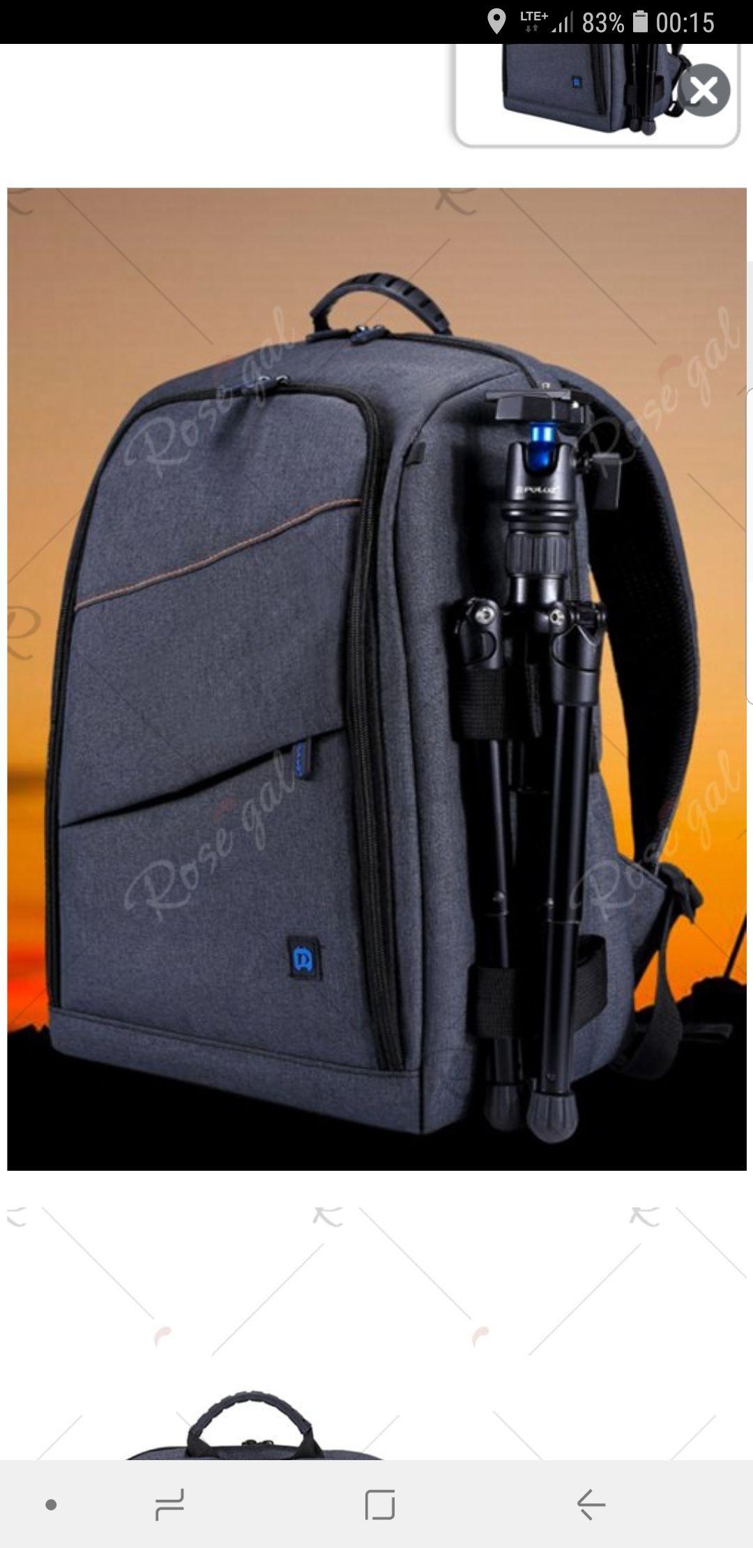Plecak na aparat fotograficzny - wodoodporny