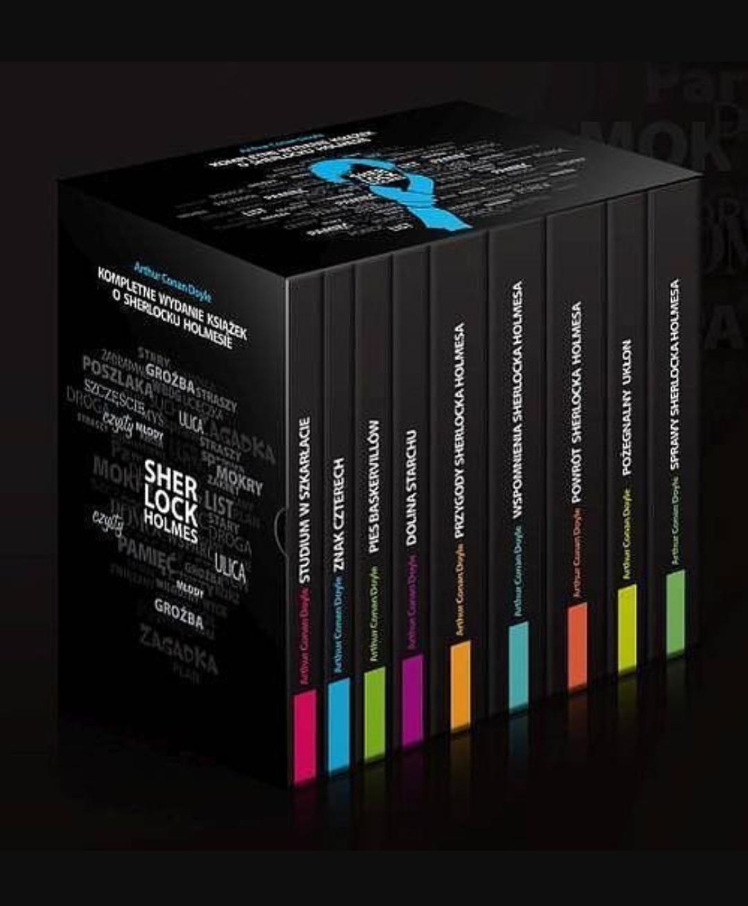 Sherlock Holmes Wydanie Kompletne - 9 książek
