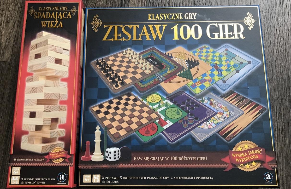 Klasyczne gry: planszowe, jenga, szachy, kasyno etc. Bierdonka po 19,99zł
