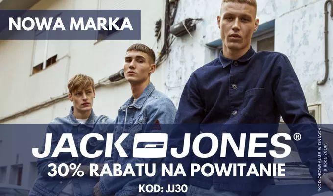 -30% na produkty Jack & Jones