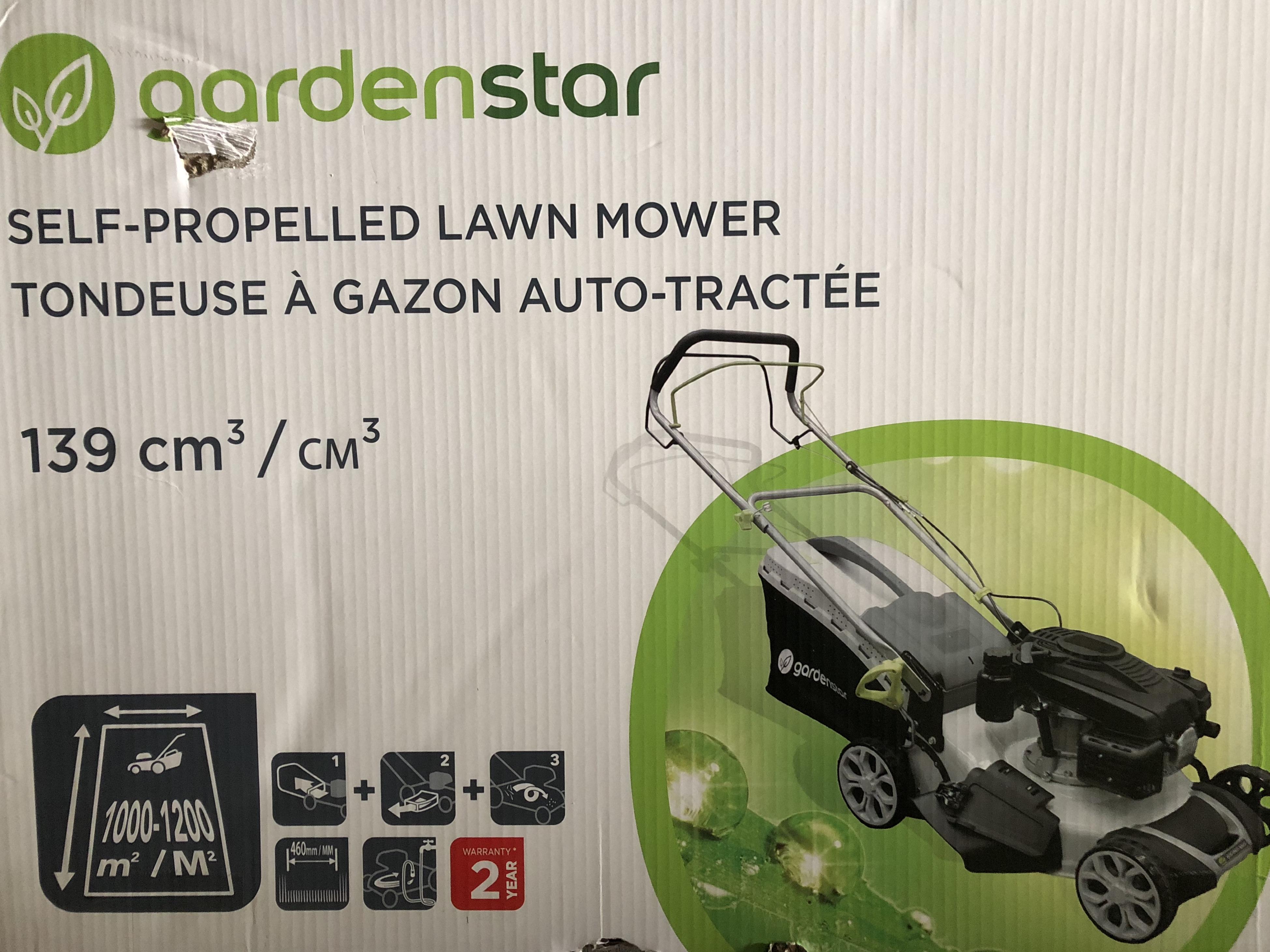 Auchan Kosiarka spalinowa Gardenstar 139cc z napędem