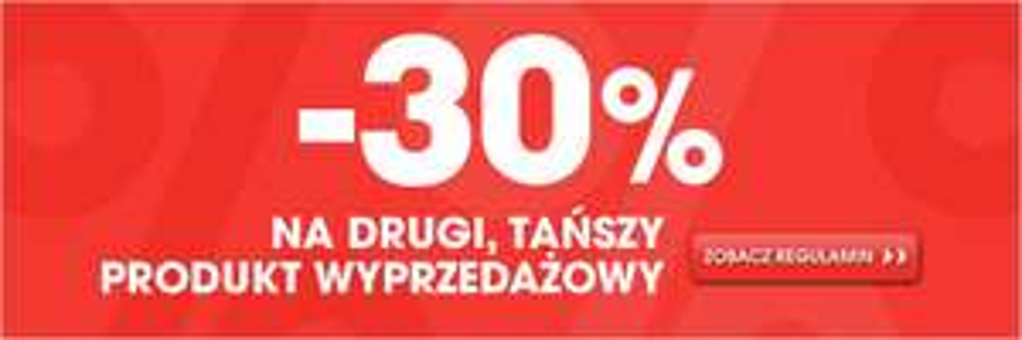 Rabat -30% na każdy drugi produkt z wyprzedaży (do dziś) @ Go Sport