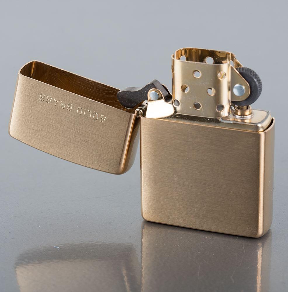Zapalniczka Zippo (mosiężna, brass) - 4 modele