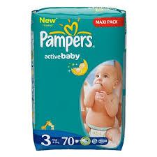 Pieluszki Pampers Maxi Pack za 34,95zł @ Kaufland