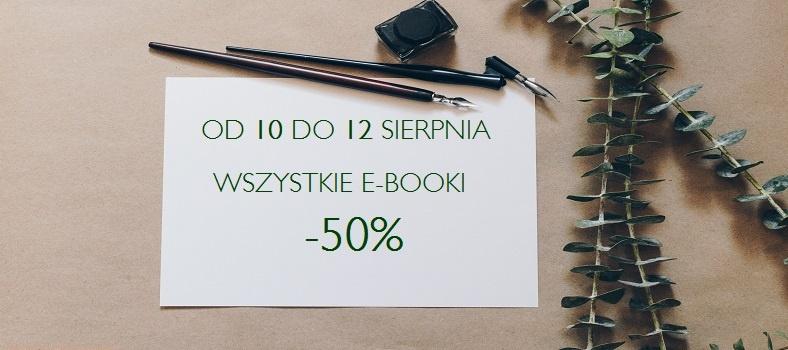 50% rabatu na wszystkie ebooki (ceny od 7,50zł) @ Czarna Owca