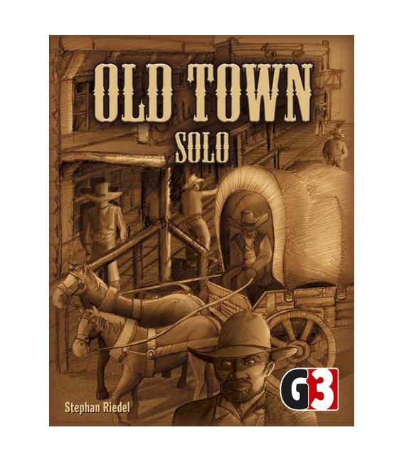 Gra planszowa Old Town Solo i inne planszówki @ aleplanszowki.pl