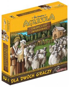 Gra planszowa Agricola: Chłopi i ich zwierzyniec @ cdp.pl