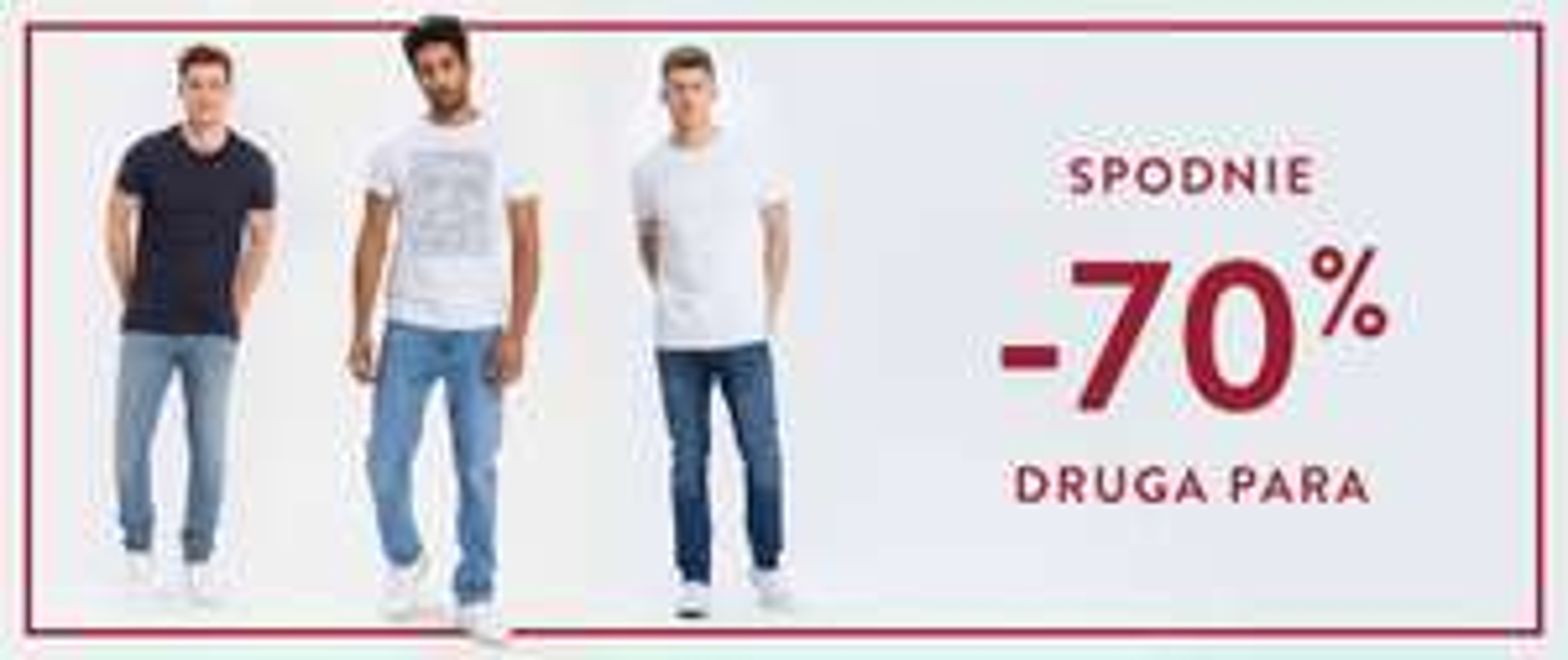 -70% na drugą parę spodni (łączy się z przeceną) @ Cross Jeans