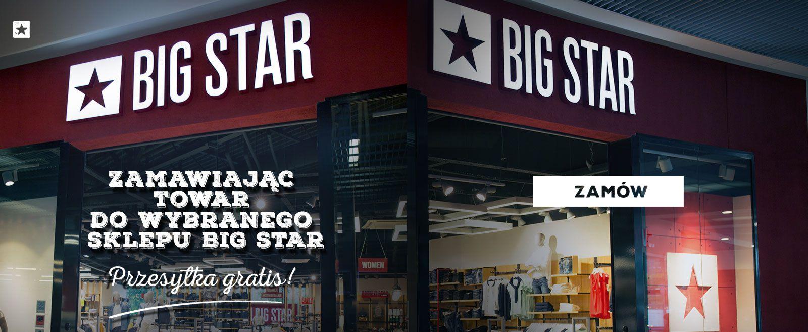 -10 zł przy zamówieniu powyzej 100 zł @ BIg Star