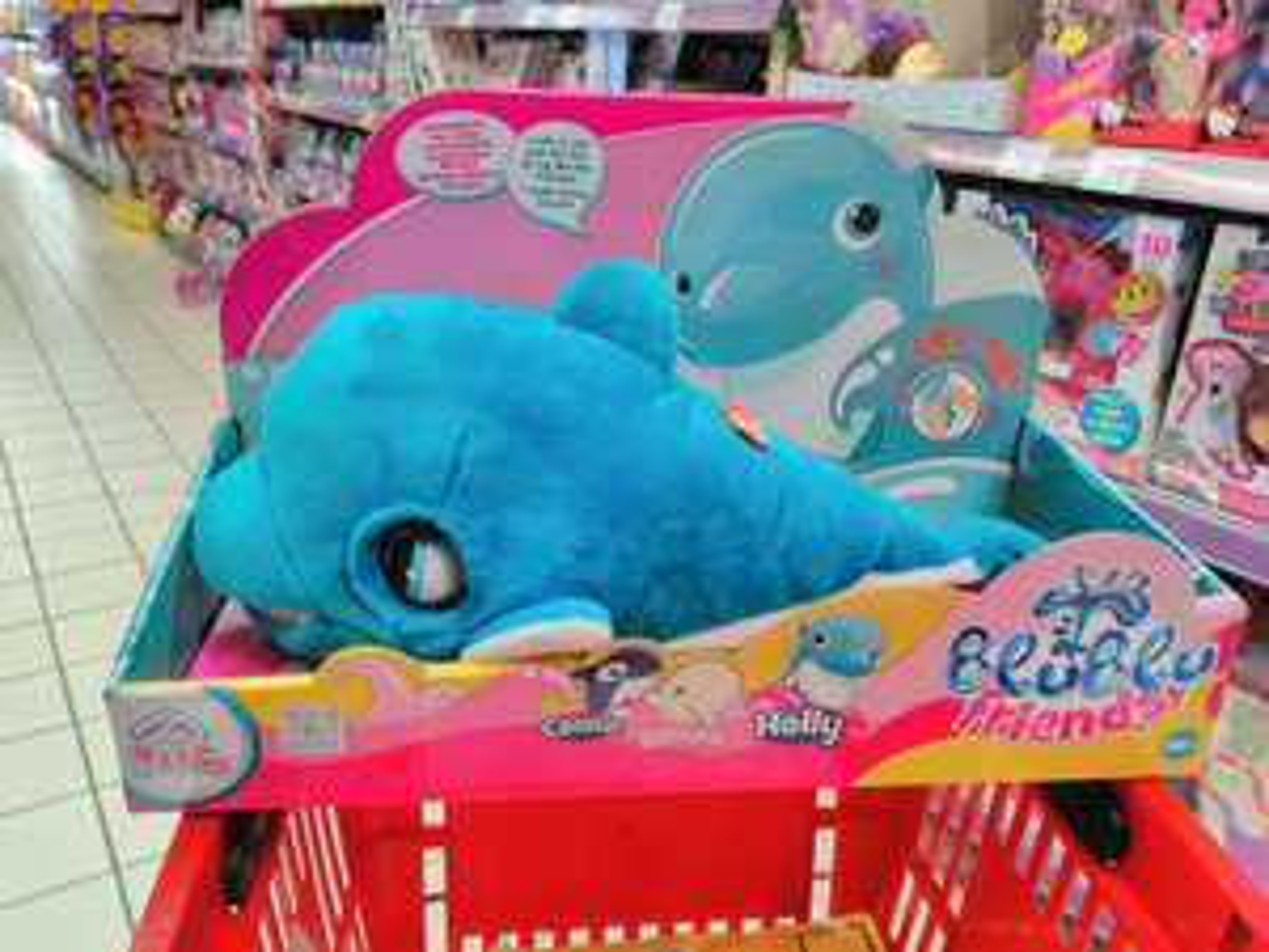 Przyjaciel blu blu. W Carrefour -73%