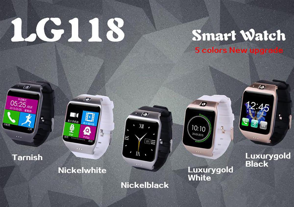 Smartwatch LG118 za ok 130 zł