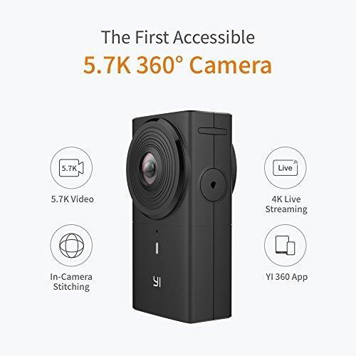[Błąd!] Kamera sportowa Yi 360 VR za ~240zł z wysyłką @ Amazon (IT)