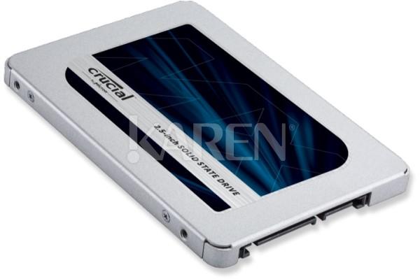Crucial MX500 1TB SSD 826zł Karen