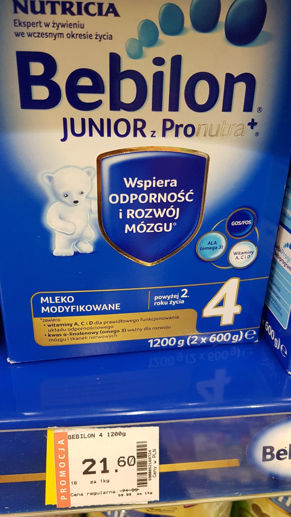 Bebilon Junior 4ka Superpharm Gliwice EC