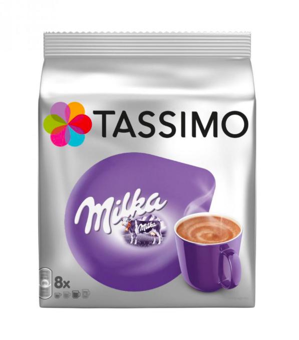 Czekolada Milka do picia - 8 kapsułek do TASSIMO