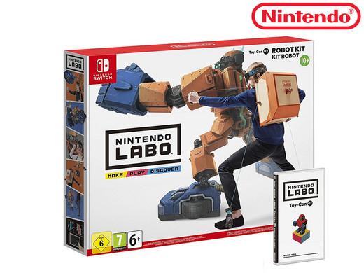Nintendo Labo: Robot Kit | Nintendo Switch iBood