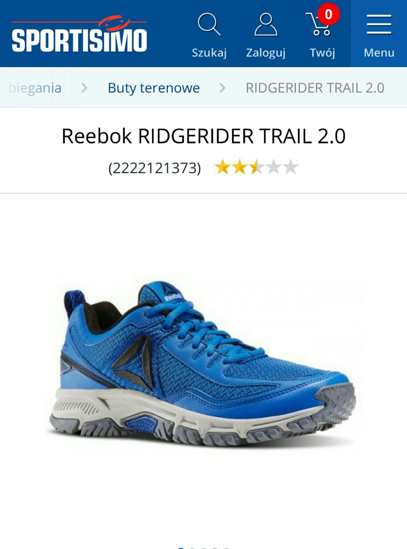Reebok Ridgerider Trial 2.0
