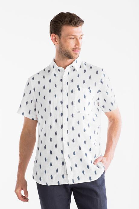 Lniana koszula Slim Fit za 22zł (rozm. S, M, L) @ C&A