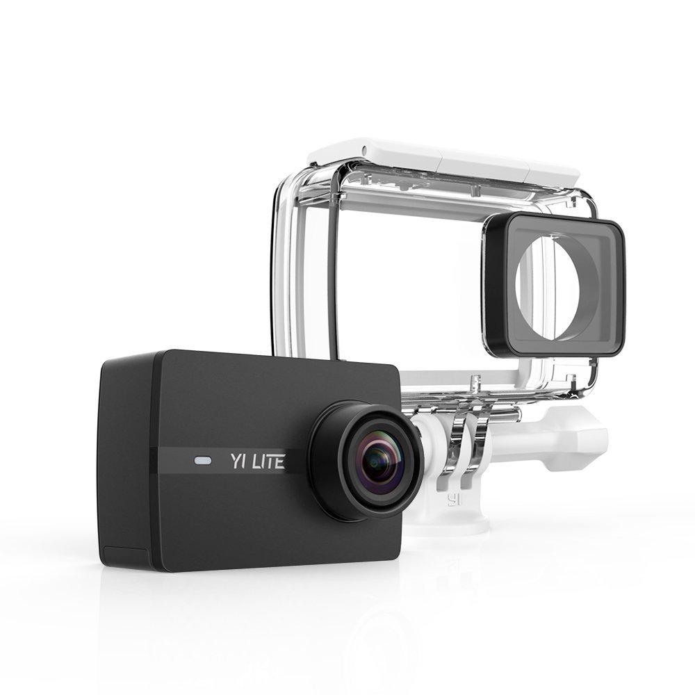 YI Lite Action Cam 4K + obudowa wodoszczelna