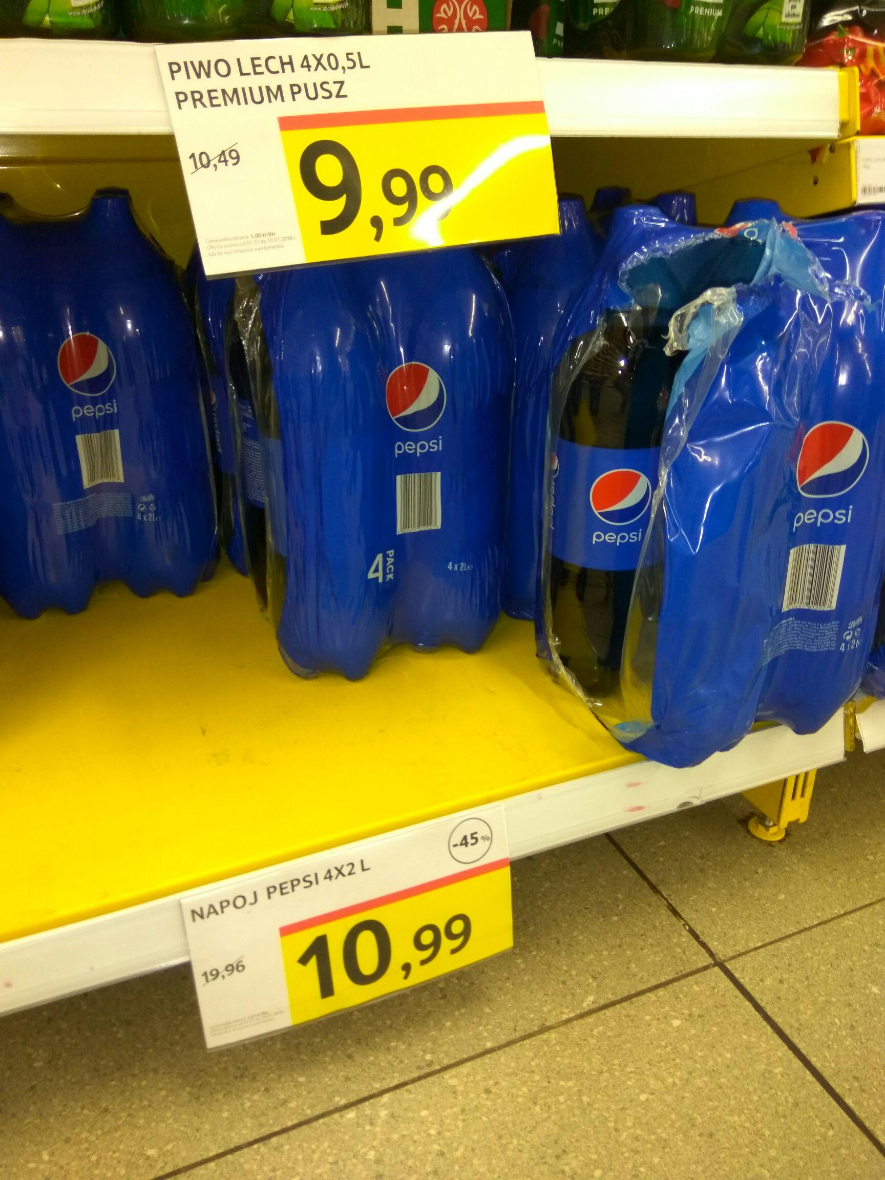 Pepsi 4 x 2L