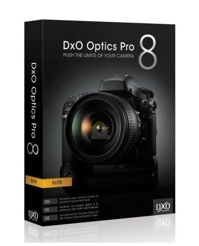 Program do obróbki zdjęć DxO OpticsPro 8 Elite Edition ZA DARMO!