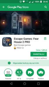 Escape Games: Fear House 2 PRO *android