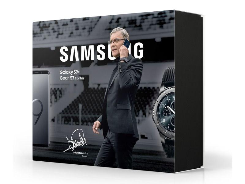Samsung S9+ i zegarek Gear S3 Frontier