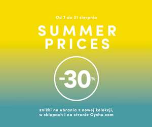 -30% na nową kolekcję @ Oysho